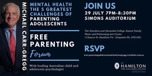 Mental Health and the 5 Greatest Challenges of Parenting Adolescence