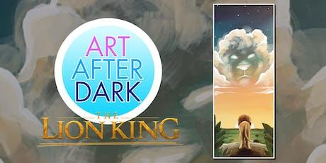 Art After Dark, Lion King tickets