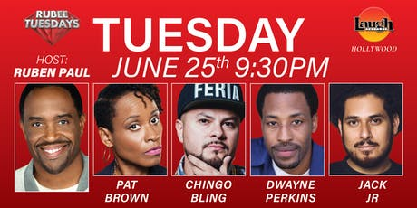 Chingo Bling,  Pat Brown and more - Rubee Tuesday! tickets