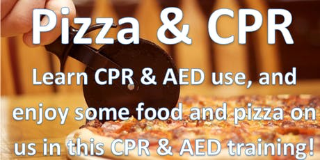Pizza & CPR tickets