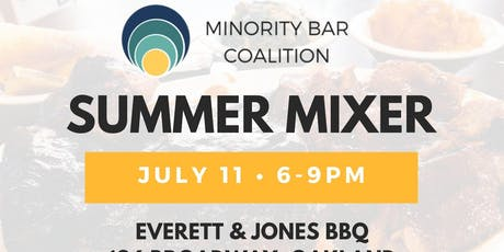 2019 Minority Bar Coalition Annual BBQ Mixer tickets