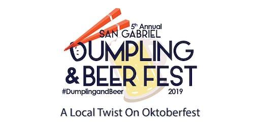 San Gabriel Dumpling & Beer Fest 2019