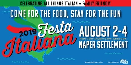 Festa Italiana Naperville tickets