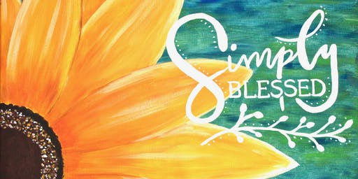 Paint your own 'Simply Blessed' with Heart for Art NZ - We'll show you how