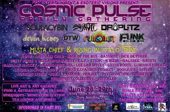 Cosmic Pulse Family Gathering tickets