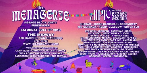 The Menagerie: 5-Stage Block Party with Diplo + More