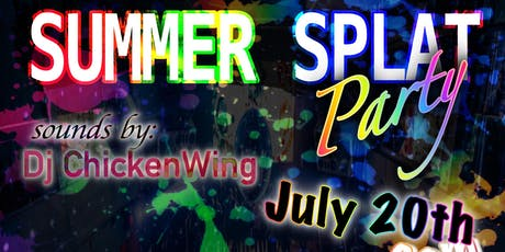 Summer Splat Party tickets