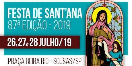 Festa de Sant'Ana - Sousas ingressos