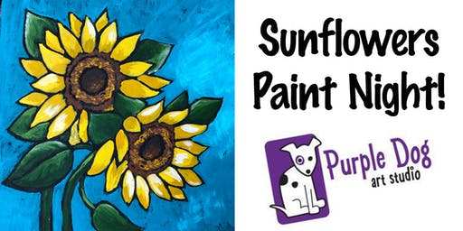 Sunflowers Paint Night
