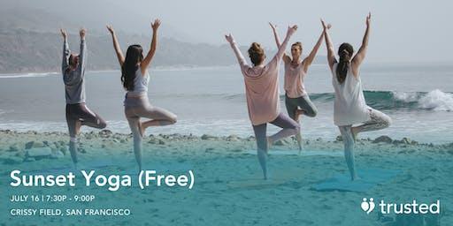 Sunset Yoga @ Crissy Field (Free)