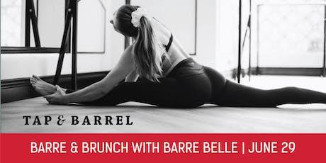 Barre & Brunch at Tap & Barrel Shipyards tickets