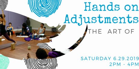 The Art of Adjustments with Andrea tickets
