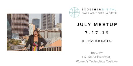 TogetherDigital Dallas-Fort Worth July Meetup: Career Search & Interview Confidence tickets