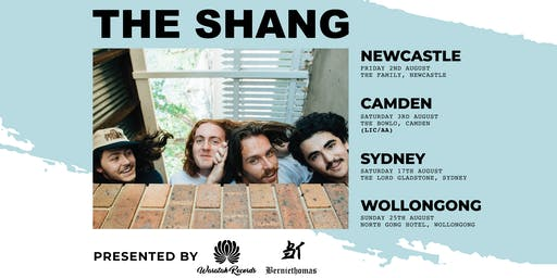 The Shang - The Bowlo (Camden ) ALL AGES