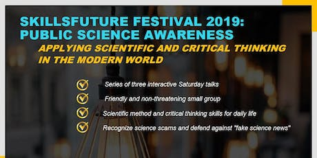SFF 2019: Public Science Awareness tickets