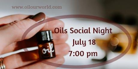Oils Social Night tickets