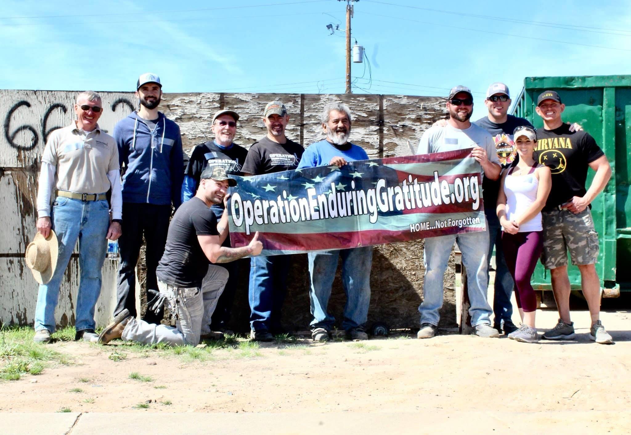 Home Tour and Celebration for Veteran Gilbert Lopez's Rebuilt Home - Operation Enduring Gratitude
