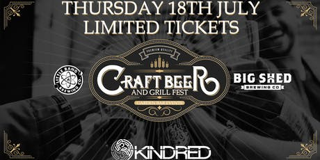 Kindred #1 - Craft Beer & Grill Fest tickets