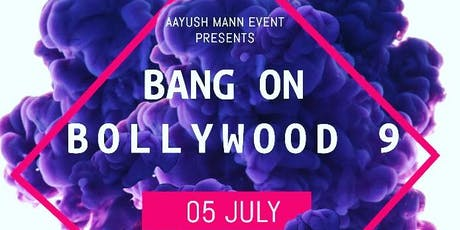 bANG On Bollywood-9 tickets