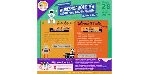 WORKSHOP ROBOTIKA BERSAMA PAKAR ROBOTIKA INDONESIA (FPS 2019)