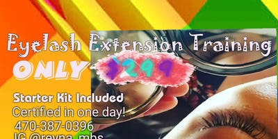 $299 ONE ON ONE  Special Eyelash Extensions Certification