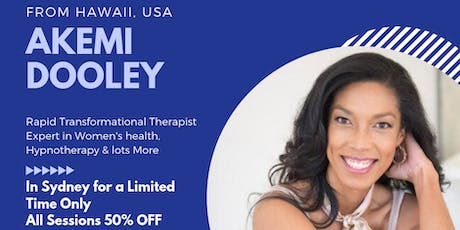 Discover the power of Rapid Transformational Therapy (RTT) tickets