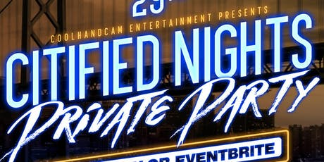 Citified Nights Private Party tickets