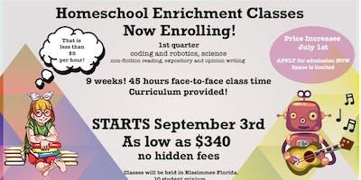 Education Revolution: Homeschool Enrichment Classes