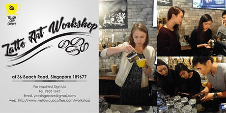 Latte Art Workshop tickets