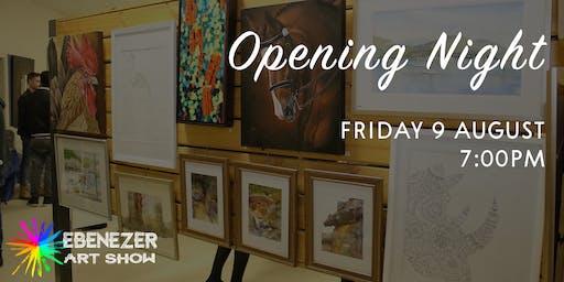 Ebenezer Art Show | Opening Night