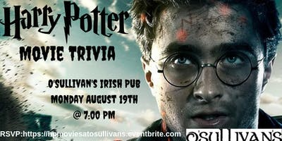 Harry Potter (Movies) Trivia at O'Sullivan's Irish Pub