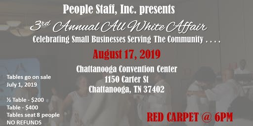 People Staff Inc S 3rd Annual All White Affair