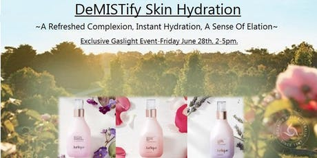 DeMISTify Skin Hydration - NEW Face Mist Launch tickets