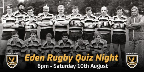 Eden Rugby Junior Quiz Night tickets