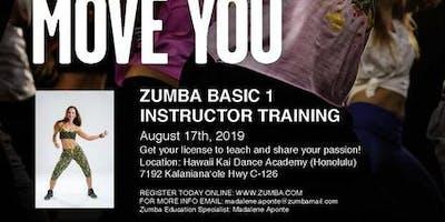 Zumba Instructor Training class
