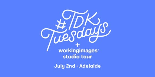#TDKtuesdays + Working Images Studio Tour