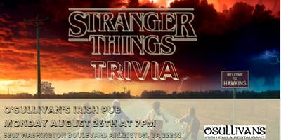 Stranger Things Trivia at O'Sullivan's Irish Pub
