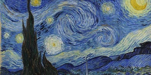 PAINT YOUR OWN VAN GOGH: 'The Starry Night'