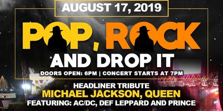 Pop, Rock and Drop It tickets