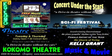 "Sci-Fi Festival Longview, TX ""Concert Under the Stars"" tickets"