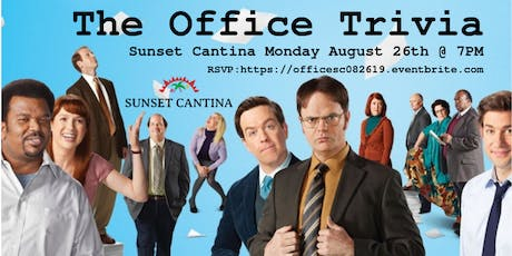 The Office Trivia at Sunset Cantina tickets