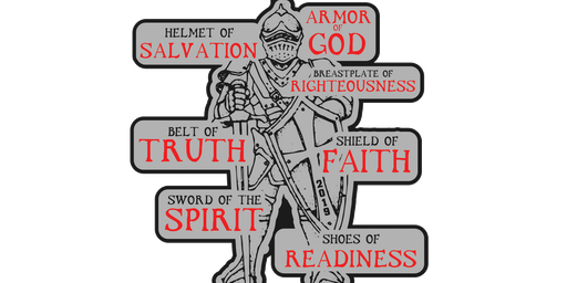 2019 Armor of God 1 Mile, 5K, 10K, 13.1, 26.2 - Indianaoplis