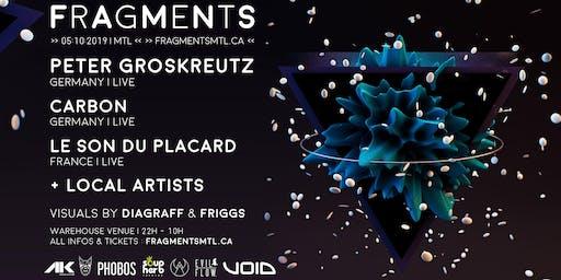 Fragments 2.0 // Peter Groskreutz LIVE [DE]+Carbon LIVE [DE]+Le Son Du Placard LIVE [FR]