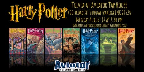 Harry Potter Books Trivia at Aviator Tap House tickets