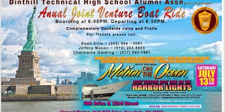 Dinthill Technical High School Alumni Association NY Chapter 2019 Boatride  tickets