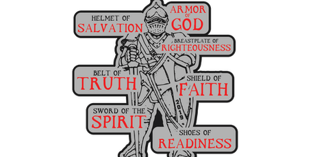 2019 Armor of God 1 Mile, 5K, 10K, 13.1, 26.2 - Nashville tickets