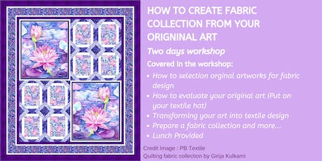 ArtSHINE: How to Create a Fabric Collection from Your Original Art  tickets