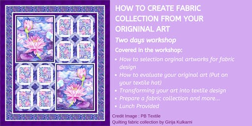 ArtSHINE: How to Create a Fabric Collection from Your Original Art