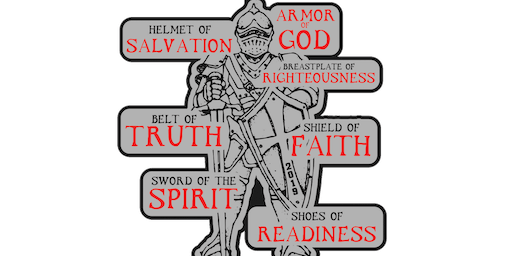 2019 Armor of God 1 Mile, 5K, 10K, 13.1, 26.2 - Waco