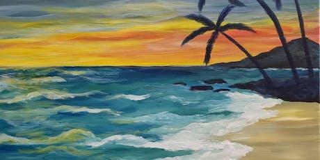 Paint Class - Maui Beach Vacation tickets